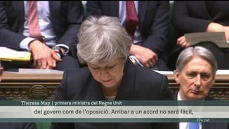 Theresa May torna a Westminster amb una pròrroga