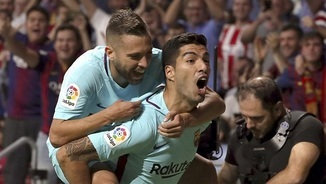 Suárez vs At. Madrid