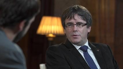"""Carles Puigdemont: """"No soc expresident, soc president. I el meu deure és defensar la legitimitat de la meva elecció"""""""