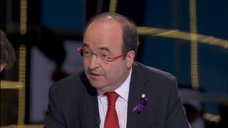 """Miquel Iceta: """"No volem el trencament ni l'immobilisme"""""""