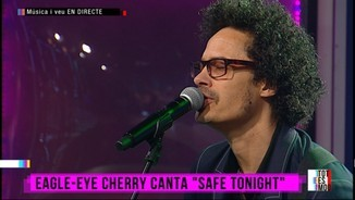 "Eagle-Eye Cherry, en directe al ""Tot es mou"""