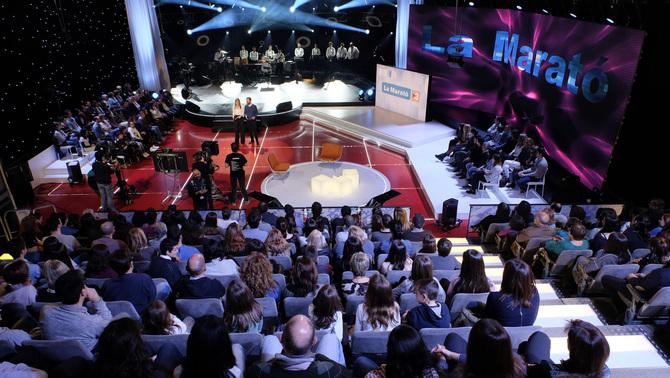 Públic de La Marató de TV3