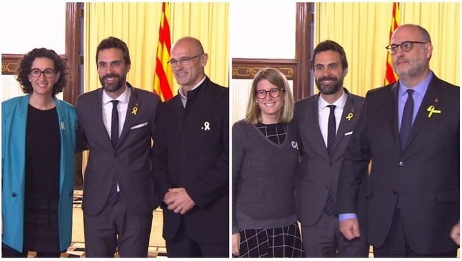 ERC confirma a Torrent que donarà suport a la candidatura de Puigdemont