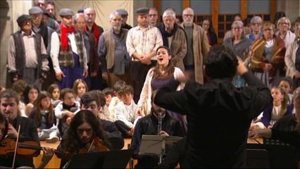 """Avui s'estrena l'òpera """"La maternitat d'Elna"""", de Martí Carreras, al Teatre de la Garriga"""