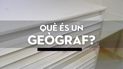 Què és un geògraf?