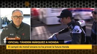 Oficial: tàndem Márquez a Honda