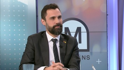 "Roger Torrent: ""Defensaré que Torra sigui president"""