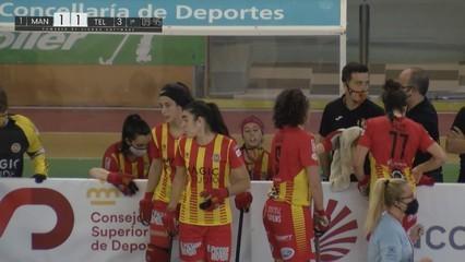 Hoquei patins femení Copa de la Reina: Magic Studio CP Manlleu-Telecable HC Quarts 2