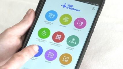 Aplicacions per a pacients i familiars de l'Hospital Vall d'Hebron
