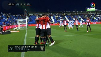 Resum del Leganés-Athletic Club (0-1)