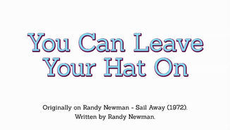 "Cançons amb història: ""You can leave your hat on"" de Randy Newman"