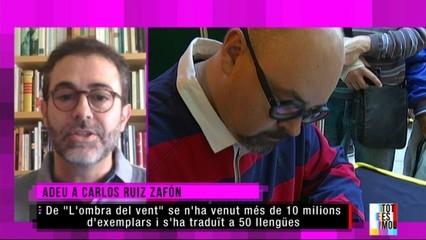 Adéu a Carlos Ruiz Zafón: parlem amb Emili Rosales