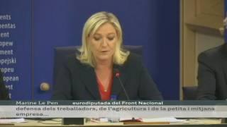 Marine Le Pen impulsa el grup ultradretà a l'Eurocambra