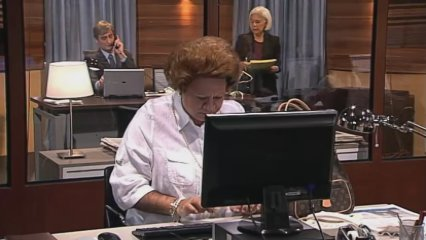 Rita Barberá es fa periodista