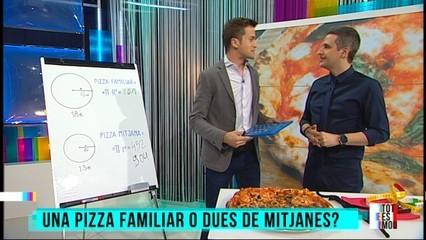 El número pi i la pizza