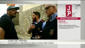 El vídeo de l'1-O a Sant Martí Sesgueioles proposat per la Fiscalia