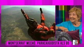 Paracaigudista als 85 anys