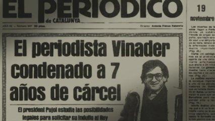 Xavier Vinader, periodista. Contra la guerra bruta