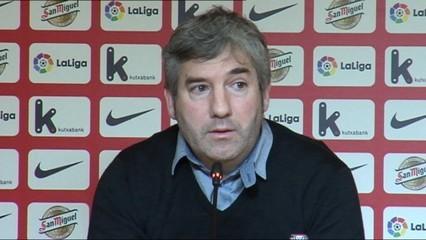 El president de l'Athletic Club parla de la situació de Yeray