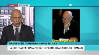 Puigdemont compareix al migdia des de Brussel·les