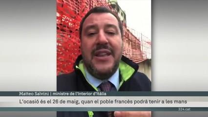 Salvini ataca Macron sense embuts