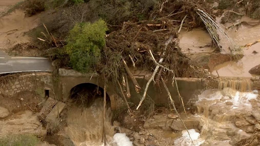 Netejar la llera dels rius no hauria evitat els desbordaments