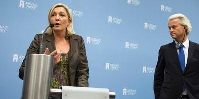 Aliança euroescèptica de la francesa Marine Le Pen i l'holandès Geert Wilders per després de les eleccions europees
