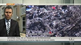 Informe final de la tragèdia de Germanwings