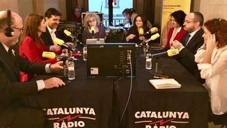 """""""La tertúlia"""": Debat calent dels nous diputats abans d'obrir la legislatura"""