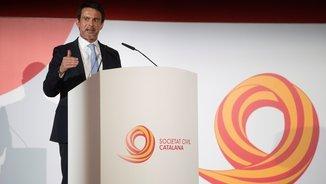 """Manuel Valls: """"Roda el món i torna al Born. Podeu comptar amb mi"""""""
