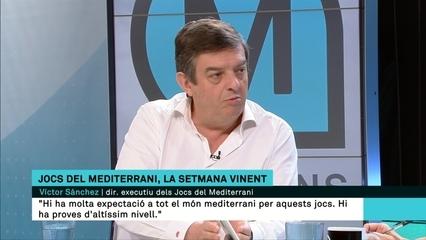 """Víctor Sánchez (Tarragona 2018): """"Hi ha molta expectació, tindrem proves i atletes d'altíssim nivell"""""""