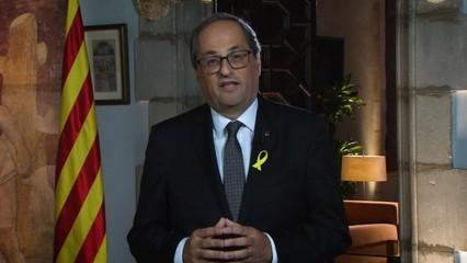 Missatge del President de la Generalitat - 10/09/2018