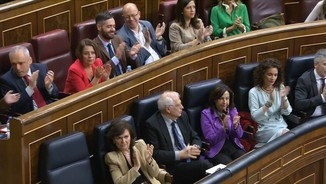 Sànchez diu no al referèndum en el ple monogràfic sobre Catalunya al Congrés