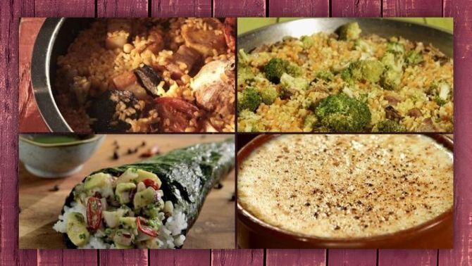 Fans de l'arròs: receptes per cuinar-lo amb verdura, carn o peix