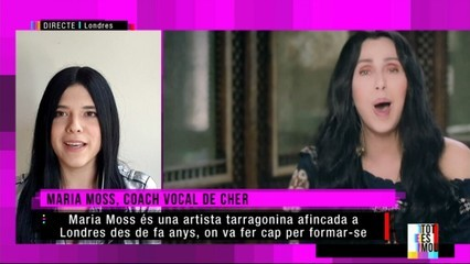"Coneixem Maria Moss, ""coach"" vocal de Cher"
