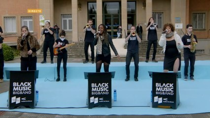 Black Music Big Band canta un clàssic de Whitney Houston