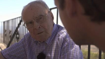 Pere Godall, supervivent de la Lleva del Biberó