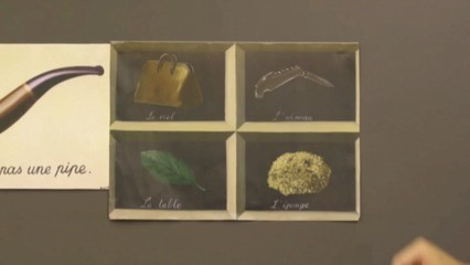 Magritte i el llenguatge