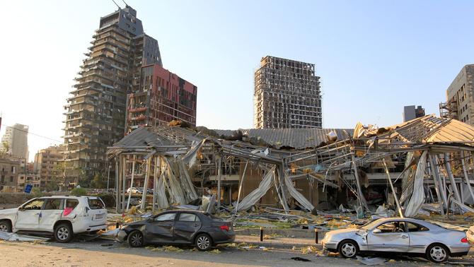 Beirut devastada: les imatges de la destrucció causada per les explosions