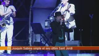 Joaquín Sabina omple el Palau Sant Jordi