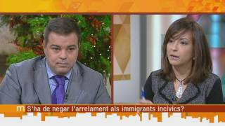 S'ha de negar l'arrelament als immigrants incívics?