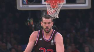 Pau i Marc Gasol, dues estrelles en l'univers All-Star