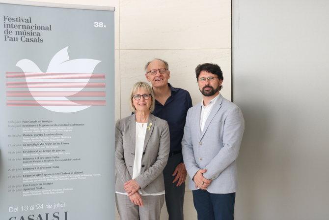 Steven Isserlis, Amandine Beyer i Gerhard Weinberger, protagonistes del Festival Internacional de Música Pau Casals