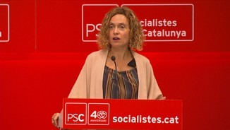 Meritxell Batet celebra que el govern del PSOE hagi obert una agenda de normalitat amb Catalunya, i Miquel Iceta demana superar la fractura del país