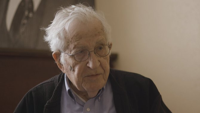 """Noam Chomsky al """"Quatre gats"""""""