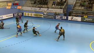 Hoquei patins: Sather Blanes-HC - F. C. Barcelona