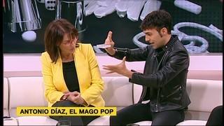 Antonio Díaz, el Mago Pop, ens porta la seva màgia