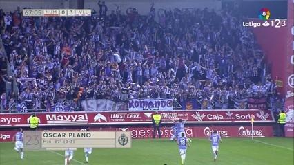 El Valladolid posa peu i mig a Primera (0-3)