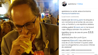 Patrycia Centeno i la comunicació no verbal de Rufián, Aznar i Torra