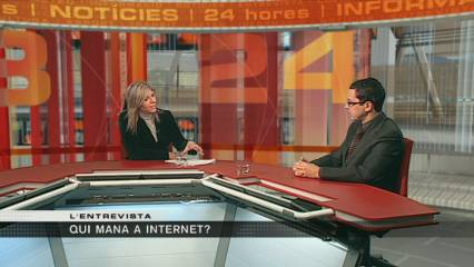 Qui mana a internet?